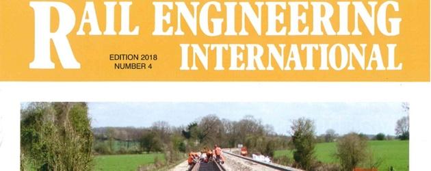Railway sleeper - Lankhorst Mouldings // News > 2019 > Article REI
